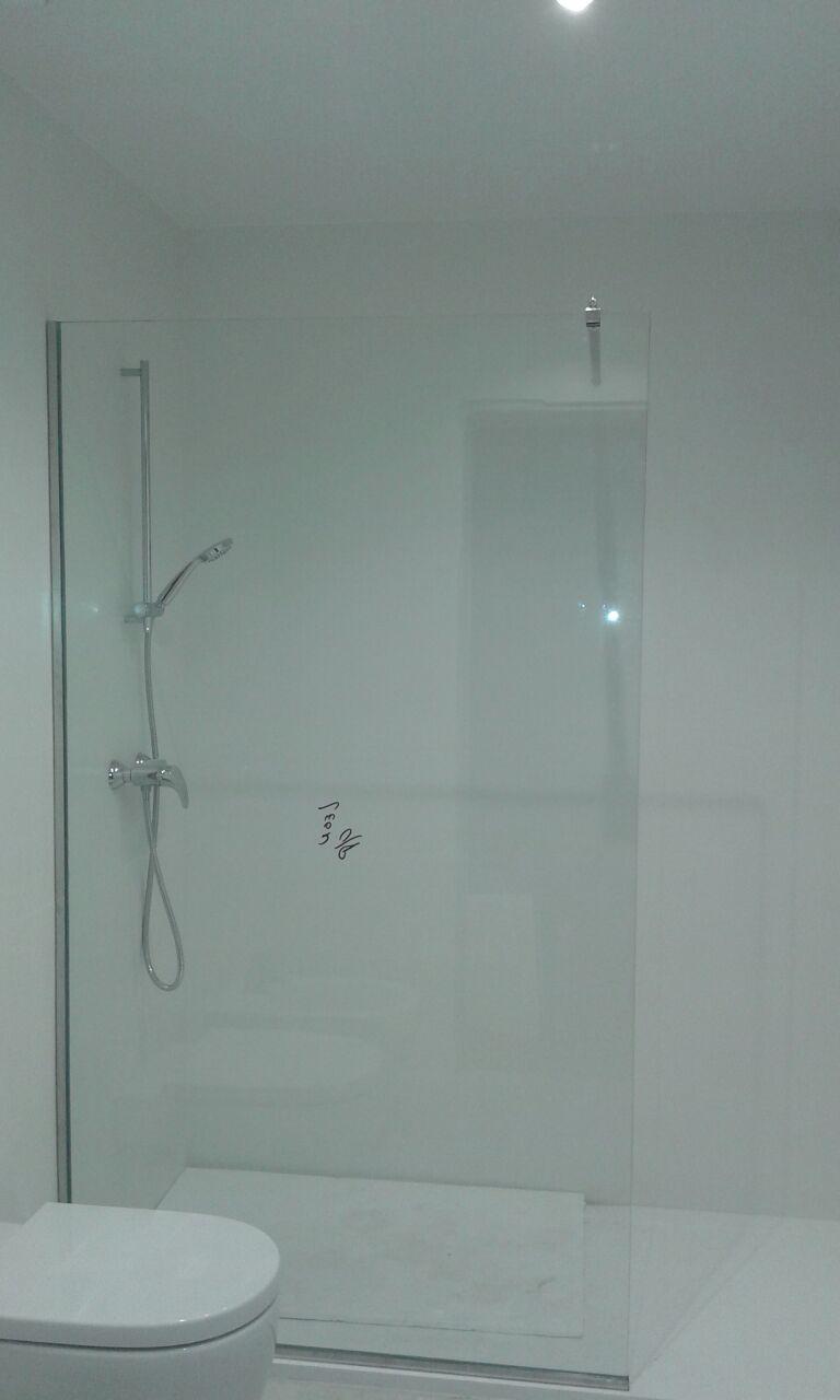 Mampara de baño Cristaleria Leon